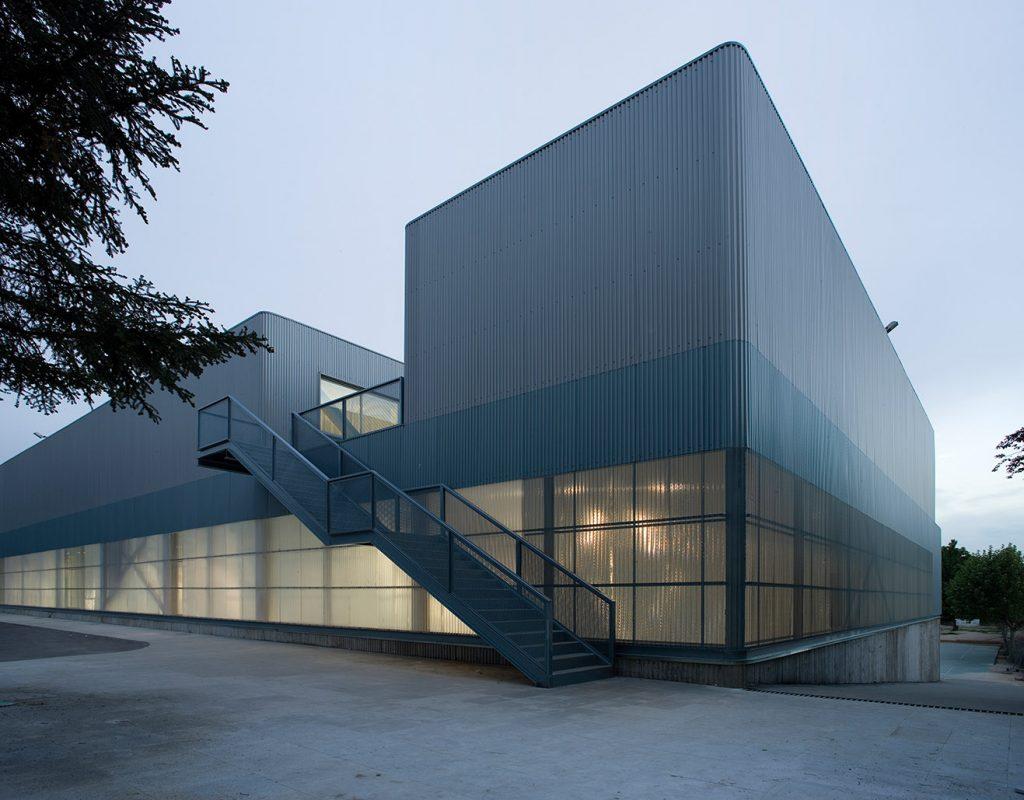 idoia otegui i! arquitectura polideportivo colegio bernadette 13