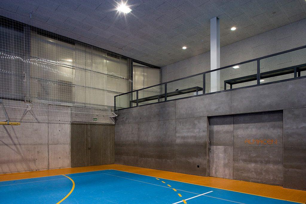 idoia otegui i! arquitectura polideportivo colegio bernadette 18
