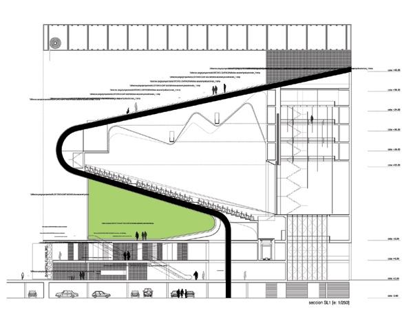 Auditorio Cartagena. Idoia Otegui Arquitectura