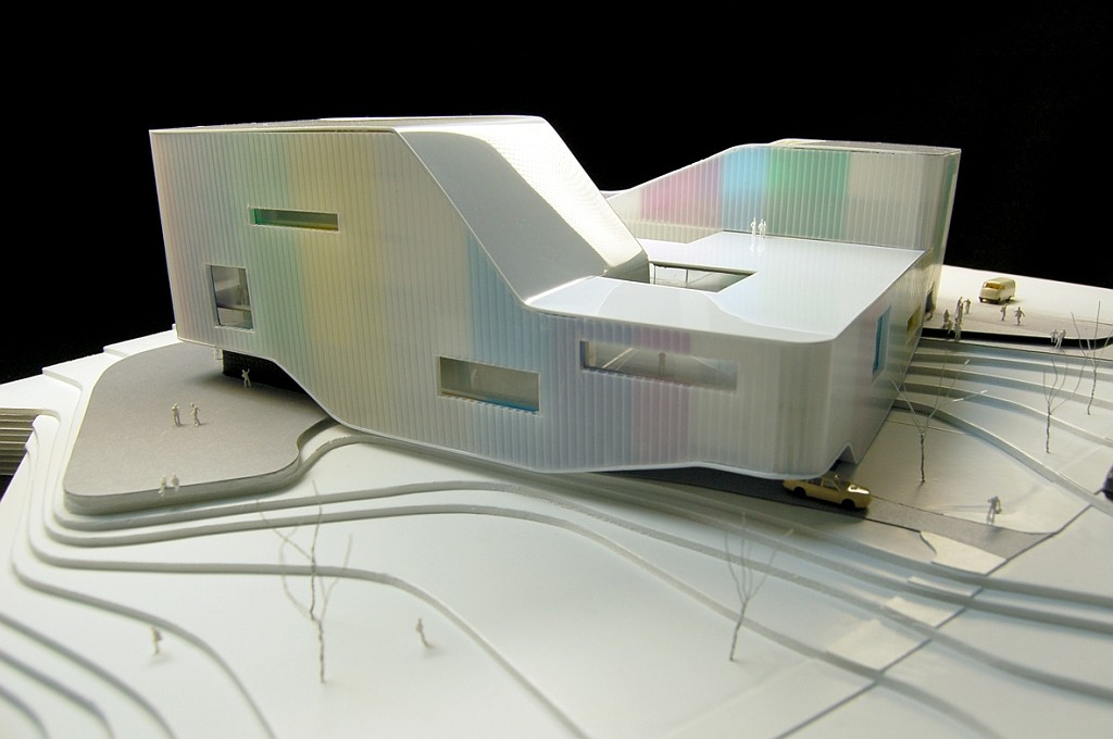 Centro Cultural Agora. Idoia Otegui Arquitectura