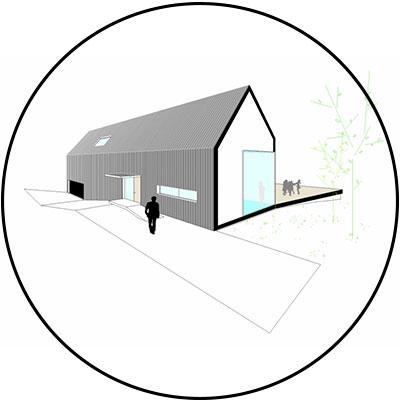 idoia otegui iotegui arquitectura vivienda 48h house miniatura