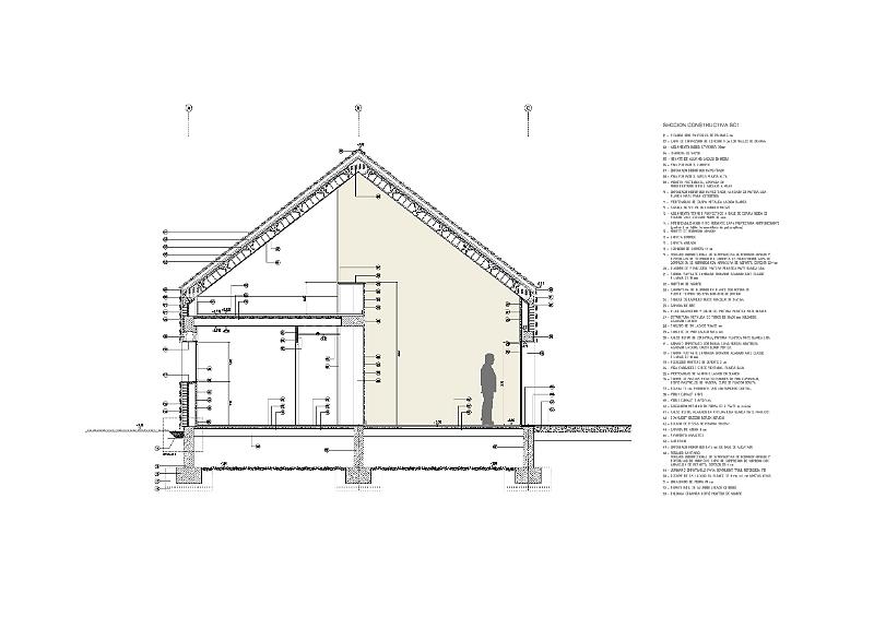 idoia otegui iotegui arquitectura vivienda unifamiliar casa M4 Lugo 13