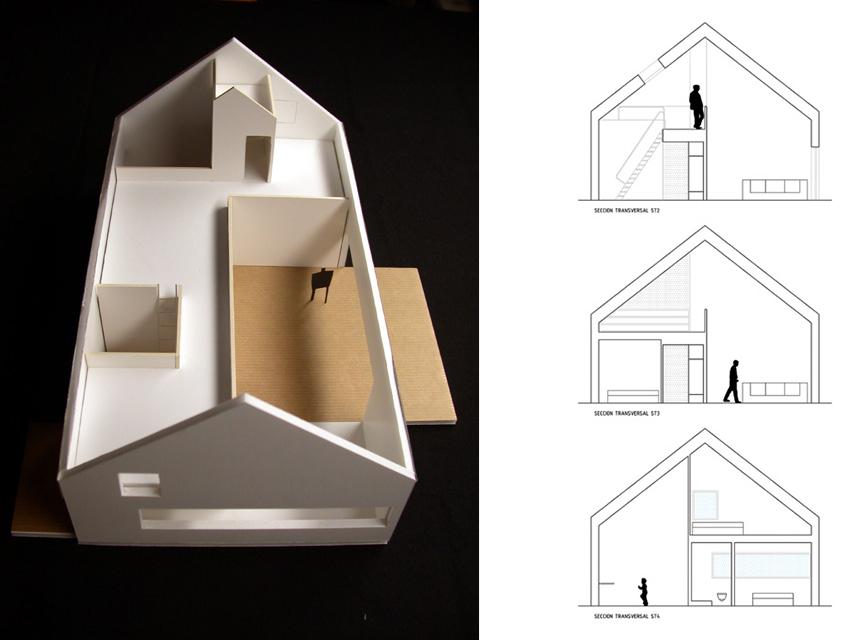 idoia otegui iotegui arquitectura vivienda unifamiliar casa M4 Lugo 1