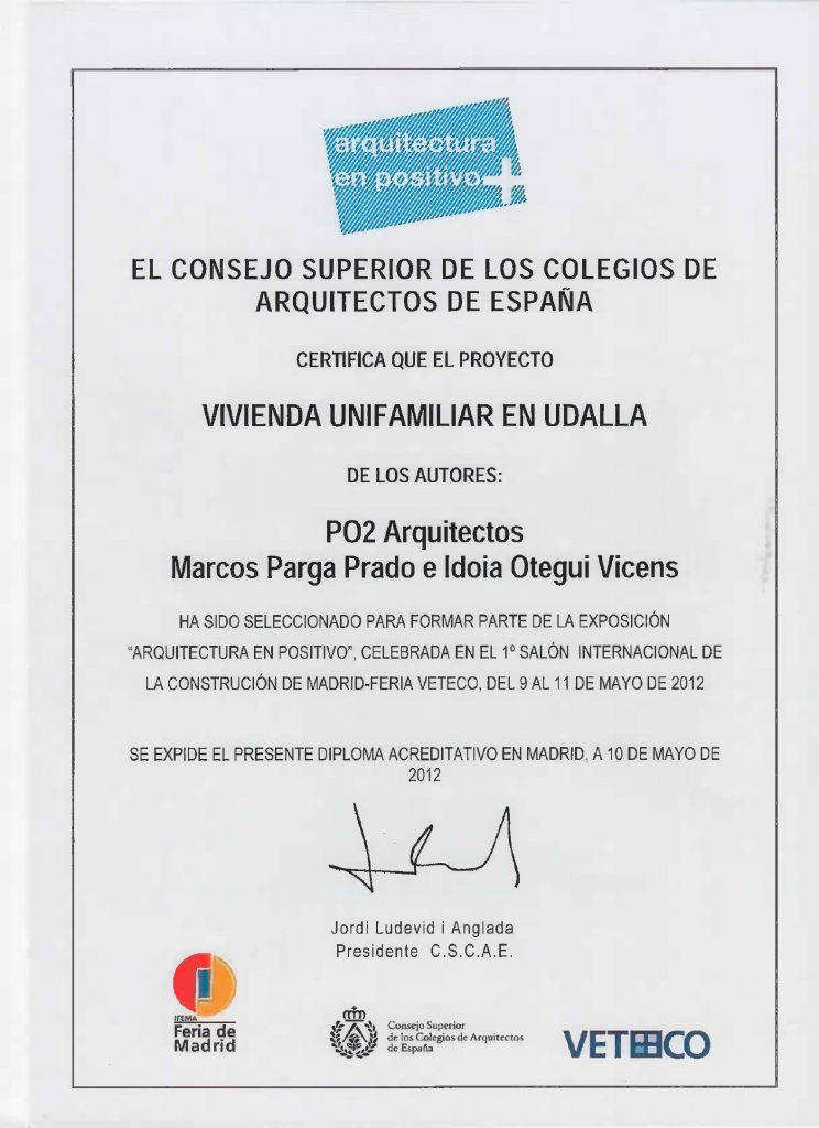 Idoia Otegui Arquitectura. Exposición Casa U. Cantabria