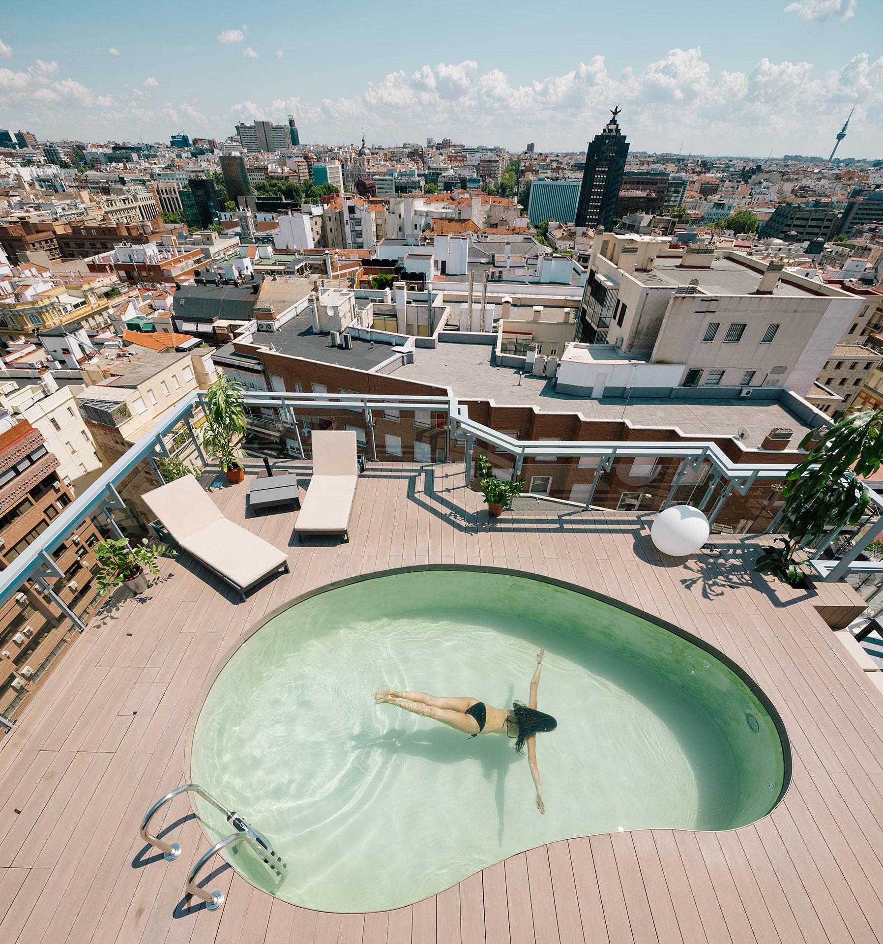 Idoia Otegui idoiaotegui arquitectura reforma rehabilitación Atico piscina