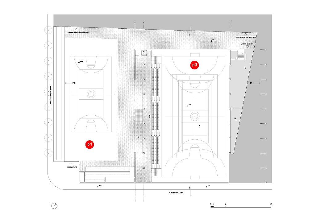 idoia otegui arquitectura. Polideportivo Numancia Santander