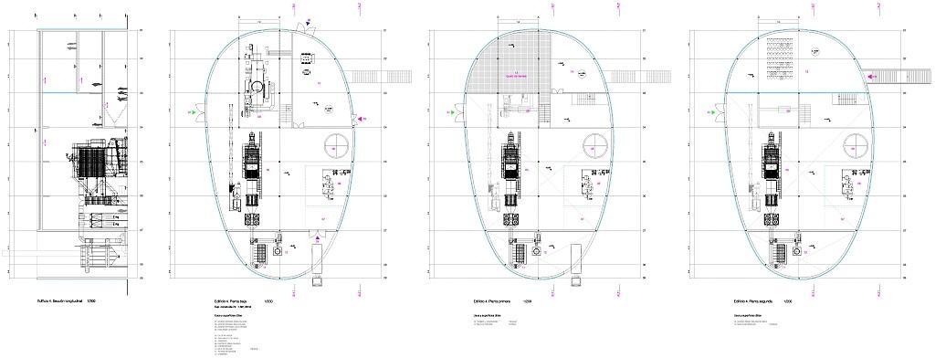 Idoia Otegui Arquitectura. central de biomasa en Verín