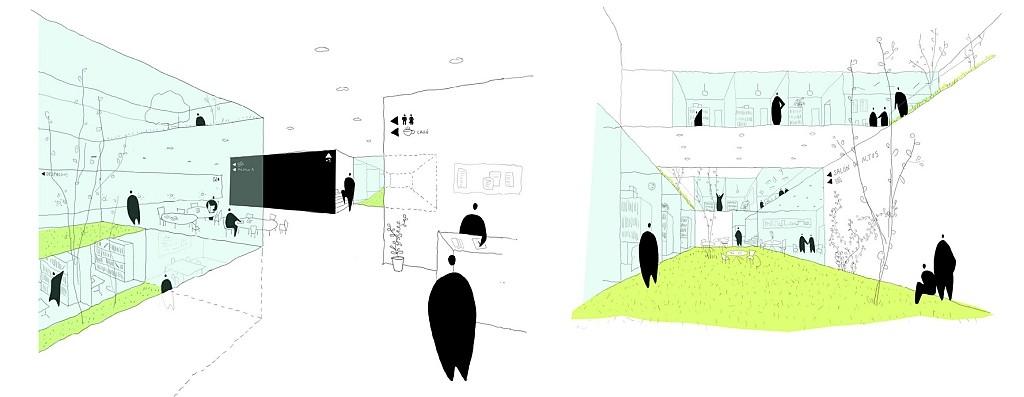 Idoia Otegui Arquitectura. instituto ciencias del patrimonio CSIC en Santiago