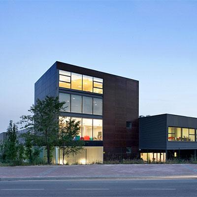 idoia otegui arquitectura oficinas fundacion juan xxiii discapacitados intelectuales centro de dia centro ocupacional