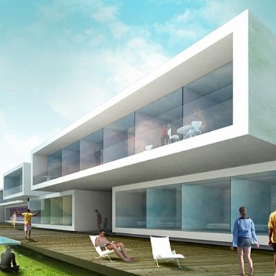 Idoia Otegui Arquitectura. Hospedería Badajoz