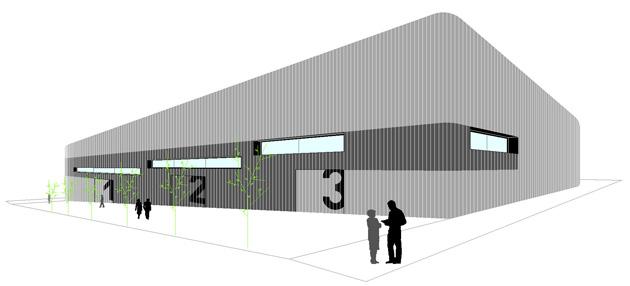 Idoia Otegui Arquitectura. 3 Naves en Guadalajara