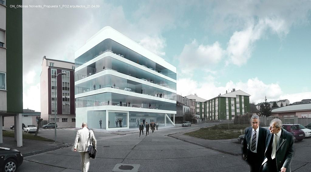 Idoia Otegui Arquitectura. Oficinas Norvento