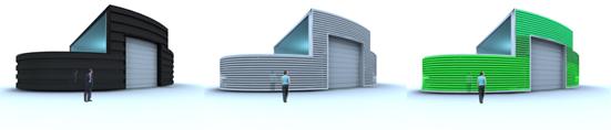 Idoia Otegui Arquitectura. Parque Eólico de Bretona