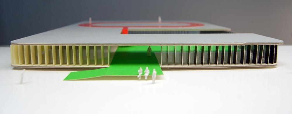 Idoia Otegui Arquitectura. Piscinas Burela