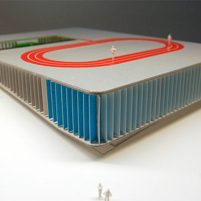 idoia otegui arquitectura polideportivo piscina burela