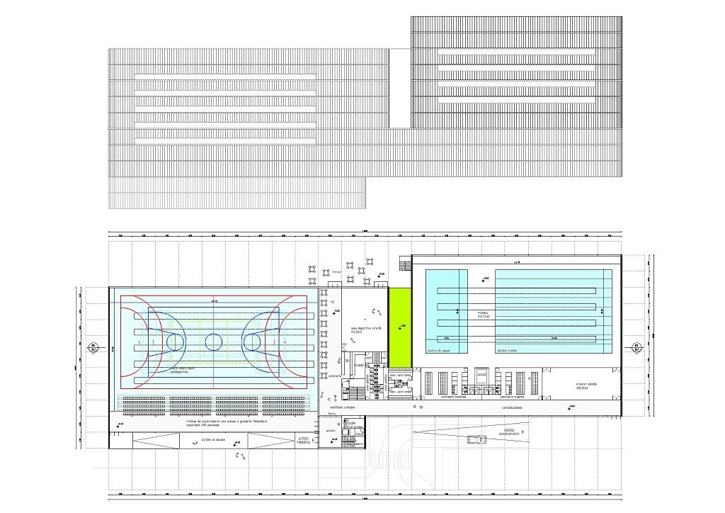 Idoia Otegui Arquitectura. Polideportivo en Logrono