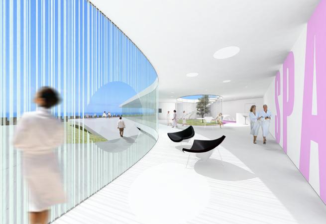 Idoia Otegui Arquitectura. Spa Baiona