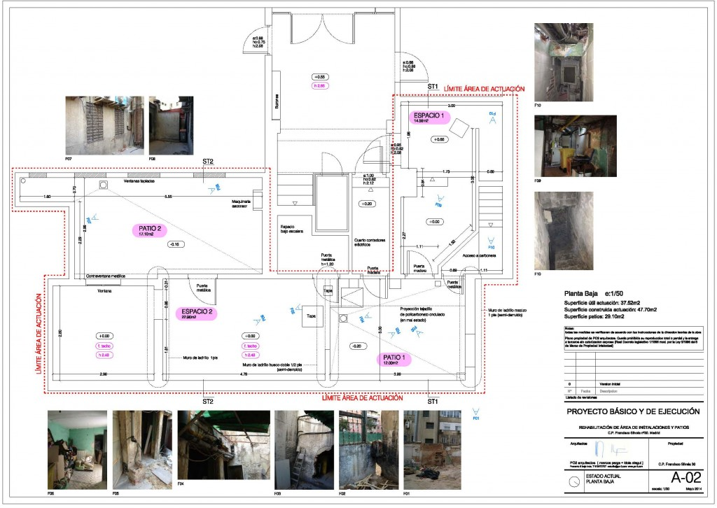 idoiaotegui iotegui arquitectura rehabilitación franciscosilvela30 plano1