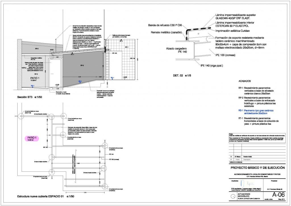 idoiaotegui iotegui arquitectura rehabilitación franciscosilvela30 plano5