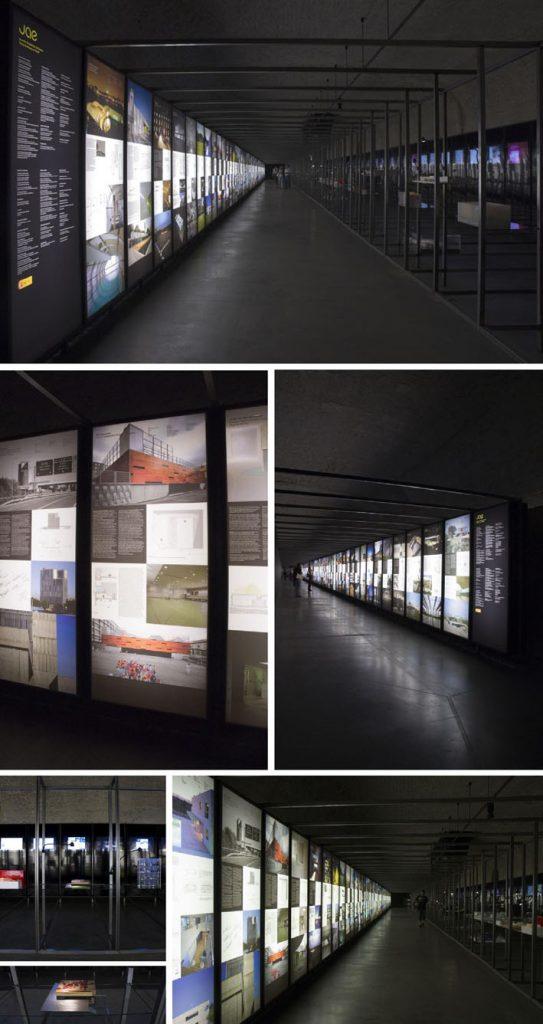 Idoia otegui Arquitectos. Exposición JAE, Nuevos Ministerios. Madrid