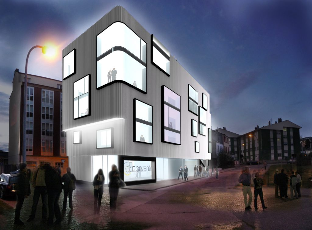 Idoia Otegui Arquitectura. Oficinas Norvento 5