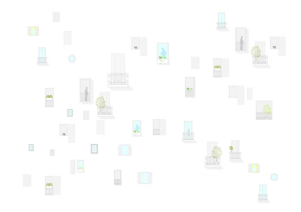IDOIA OTEGUI IOTEGUI ARQUITECTURA VIVIENDA COLECTIVA EMV hogares ventanas