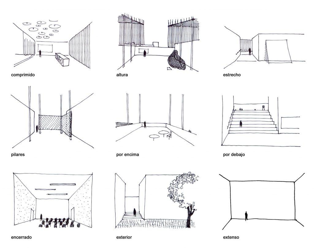 IDOIA OTEGUI IOTEGUI ARQUITECTURA rehabilitacion matadero arco Diagrams