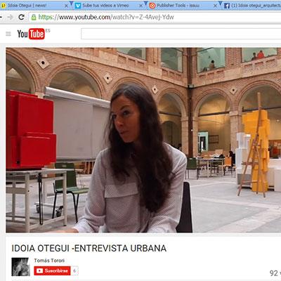 idoia otegui arquitectura urbanismo entrevista