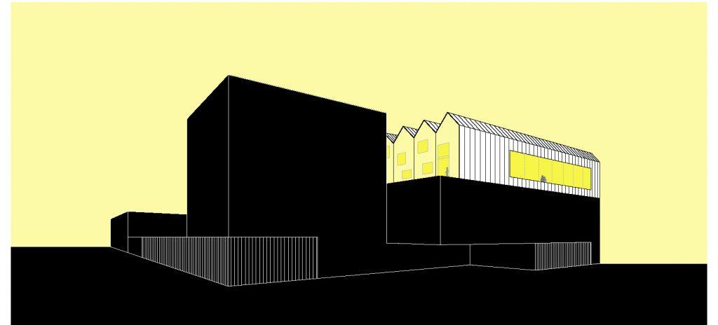 idoia otegui iotegui arquitectura centrodedia industria discapacitados fundacion juan xxiii imagen fachada