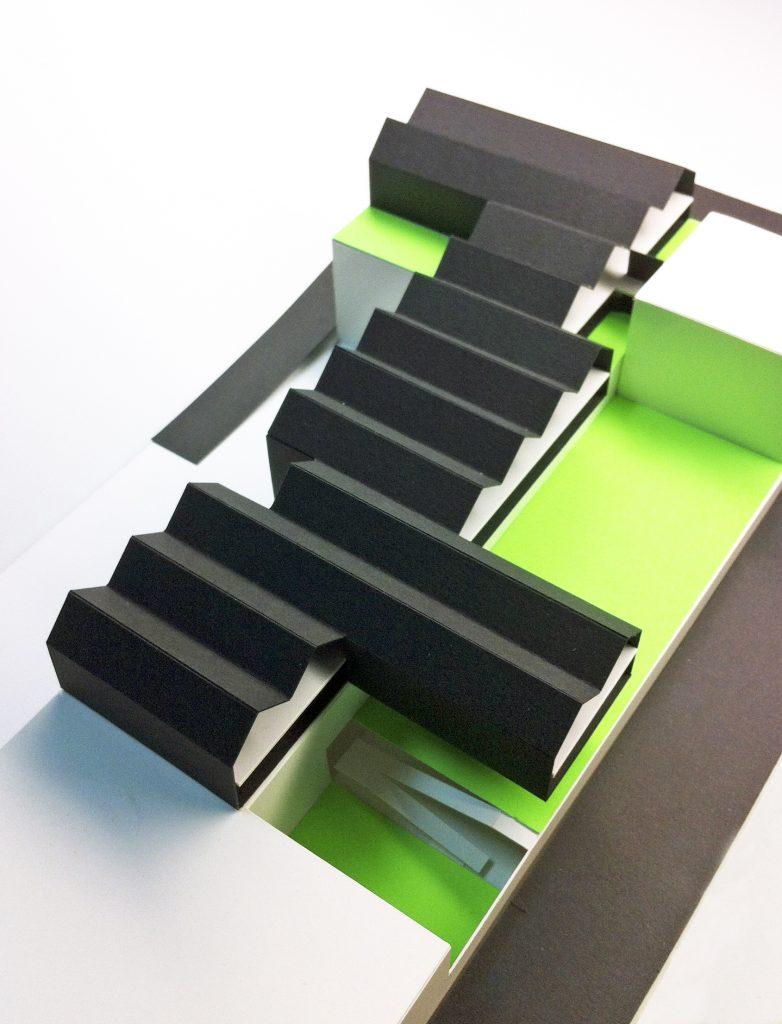 idoia otegui iotegui arquitectura centrodedia industria discapacitados fundacion juan xxiii maqueta 2