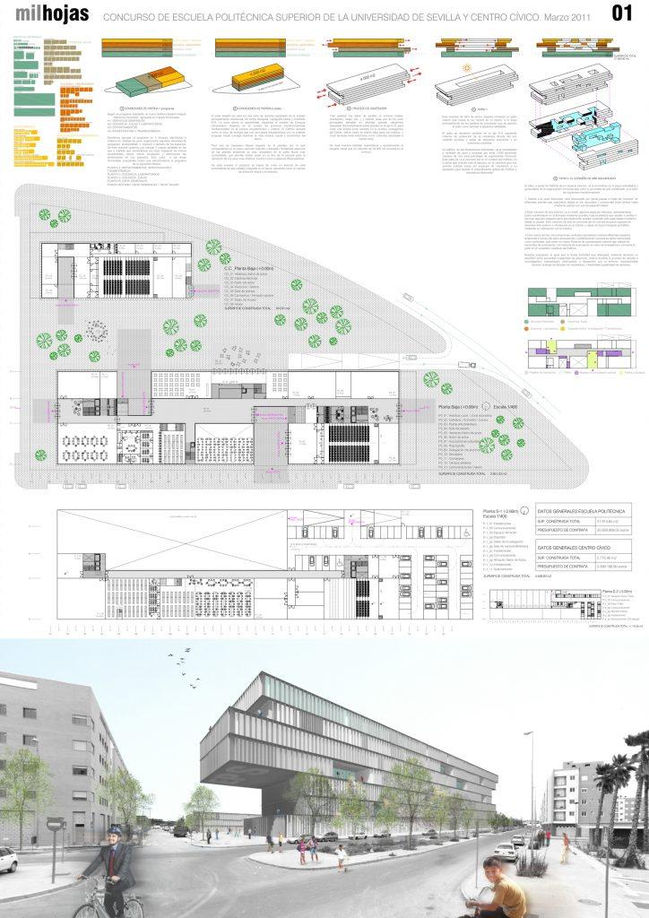 idoia otegui iotegui arquitectura escue la universidad sevilla concurso PANEL 3