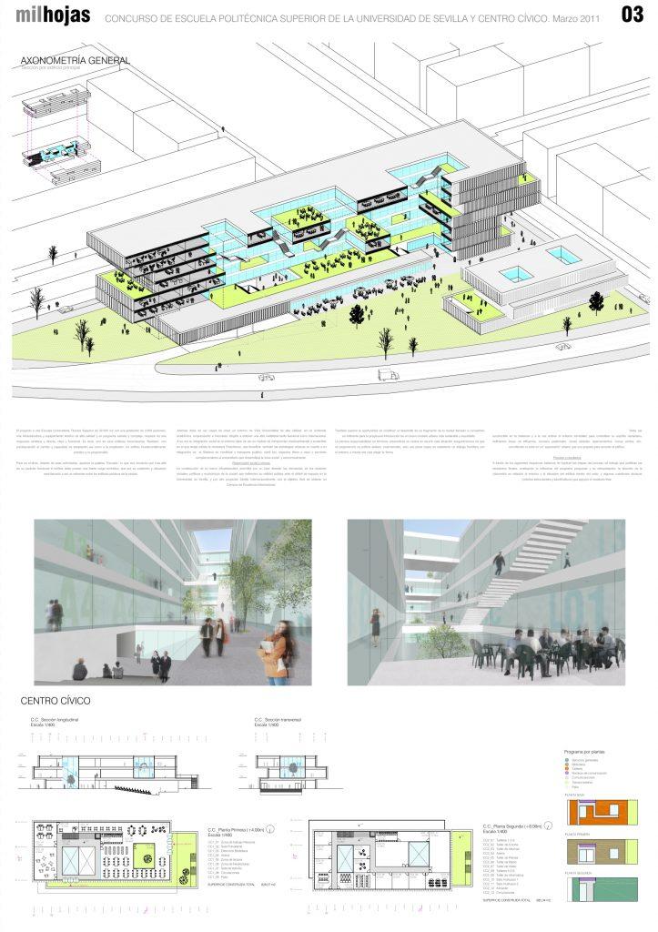 idoia otegui iotegui arquitectura escue la universidad sevilla concurso PANEL 1