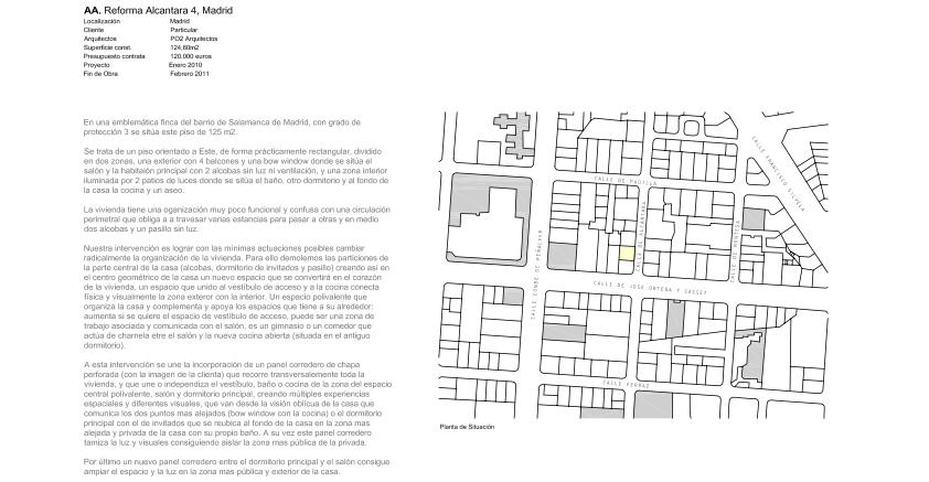 idoia otegui iotegui arquitectura reforma rehabilitación vivienda madrid Casa Ana 2