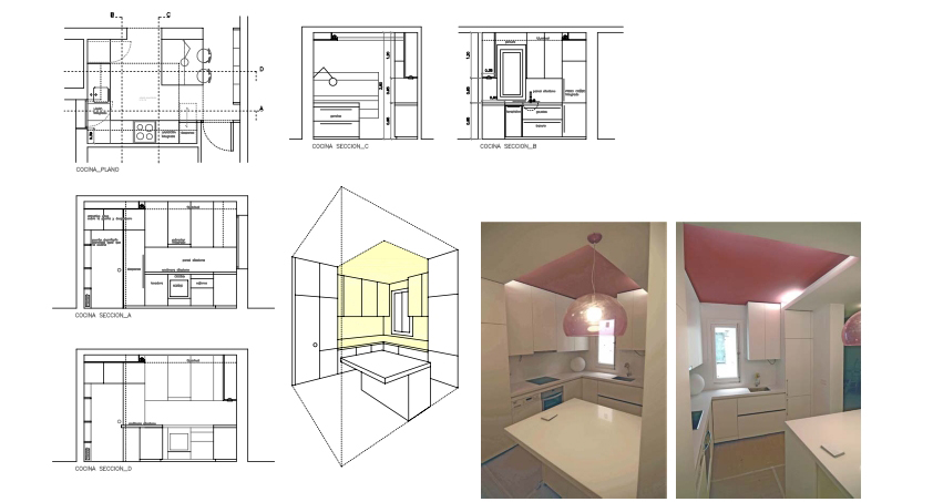 idoia otegui iotegui arquitectura reforma rehabilitación vivienda madrid Casa Ana 6