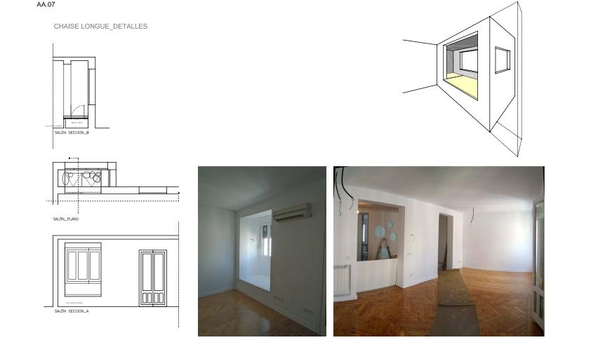 idoia otegui iotegui arquitectura reforma rehabilitación vivienda madrid Casa Ana 7