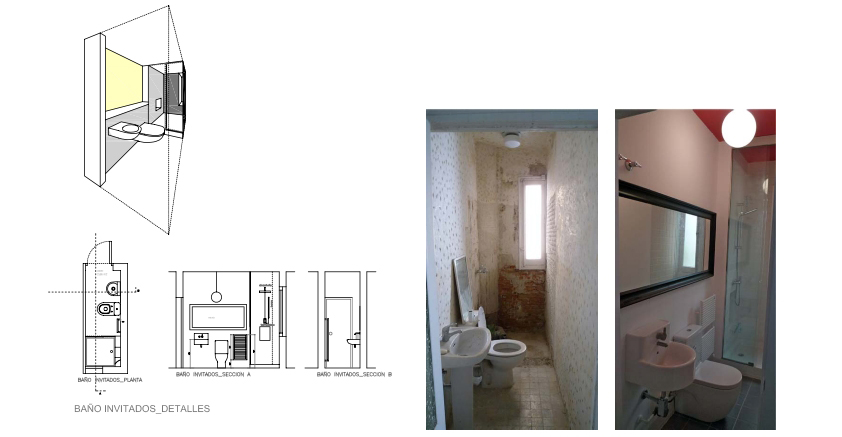 idoia otegui iotegui arquitectura reforma rehabilitación vivienda madrid Casa Ana 8