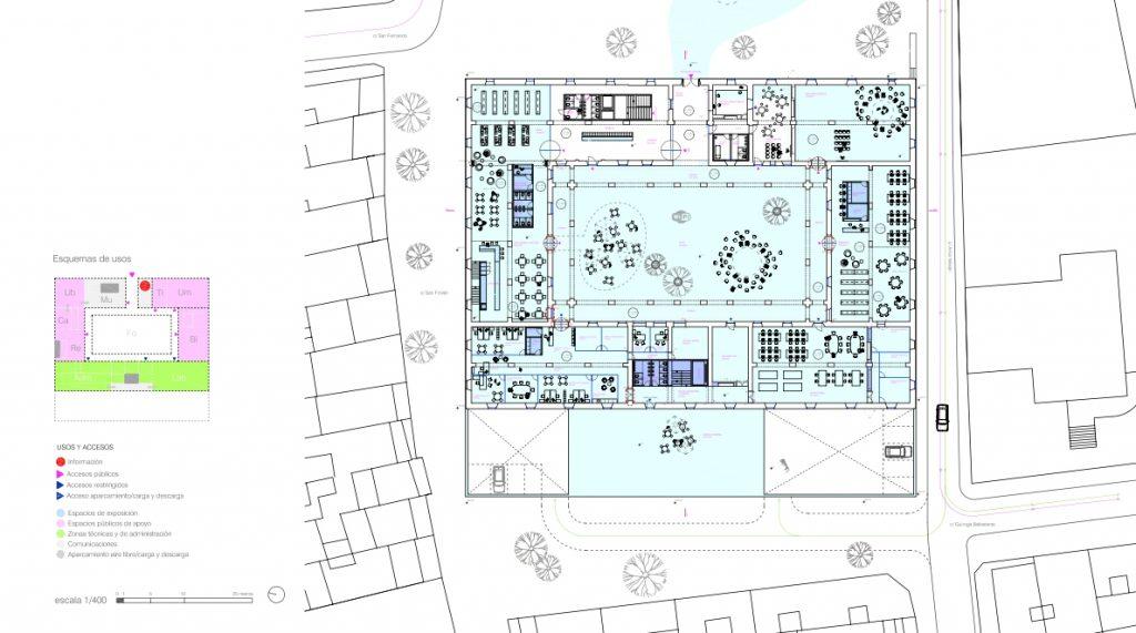 idoia otegui iotegui arquitectura rehabilitación reforma museo lugo 10