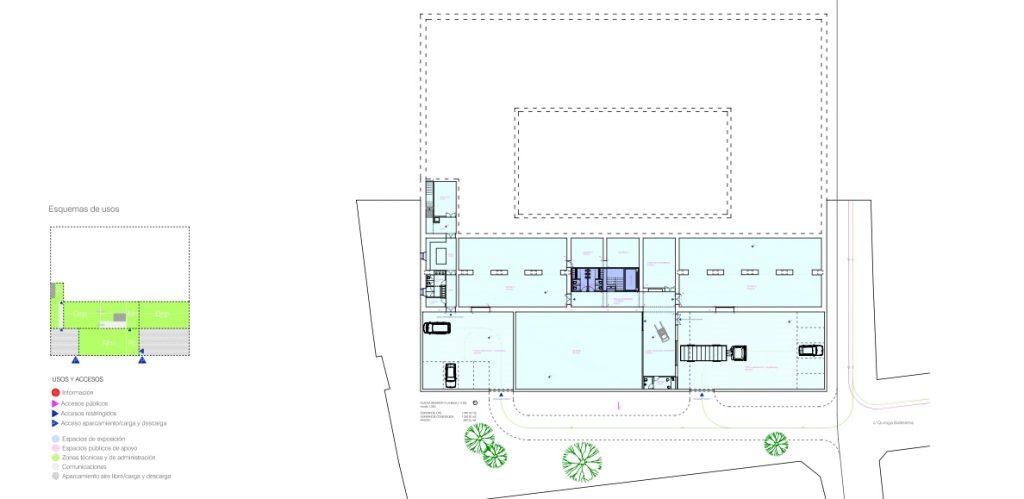 idoia otegui iotegui arquitectura rehabilitación reforma museo lugo 12
