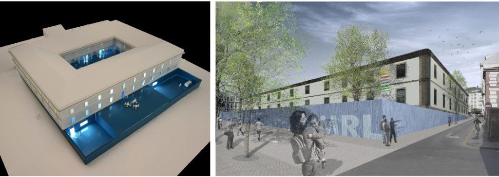 idoia otegui iotegui arquitectura rehabilitación reforma museo lugo 20