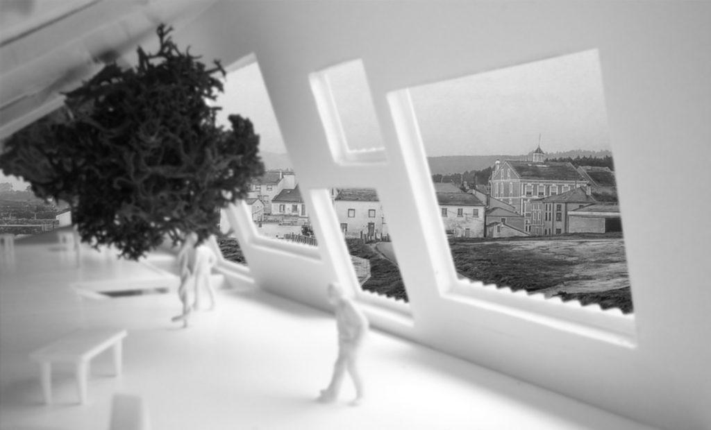 idoia otegui iotegui arquitectura residencia tercera edad VISTA INTERIOR 2
