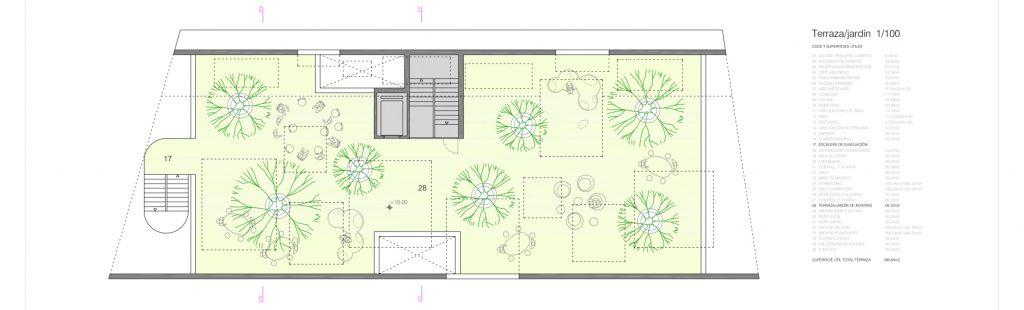 idoia otegui iotegui arquitectura residencia tercera edad planta cubierta