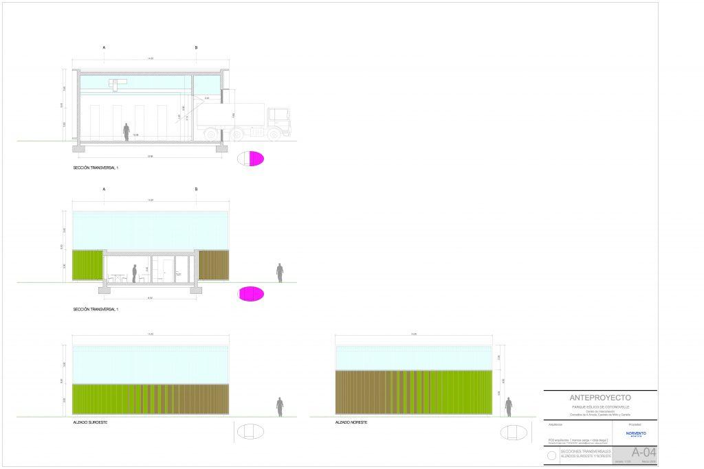 idoia otegui iotegui arquitectura parque eólico cotonovell planos