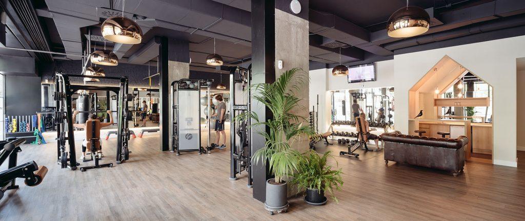 idoia otegui iotegui arquitectura reforma local Madrid gimnasio 3