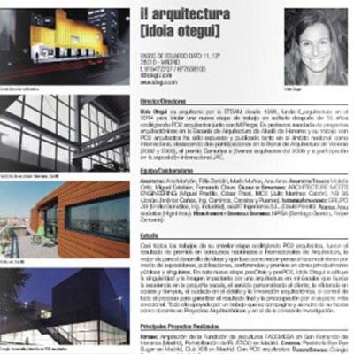 i! arquitectura iotegui idoia otegui guia estudio arquitectura España promateriales miniatura