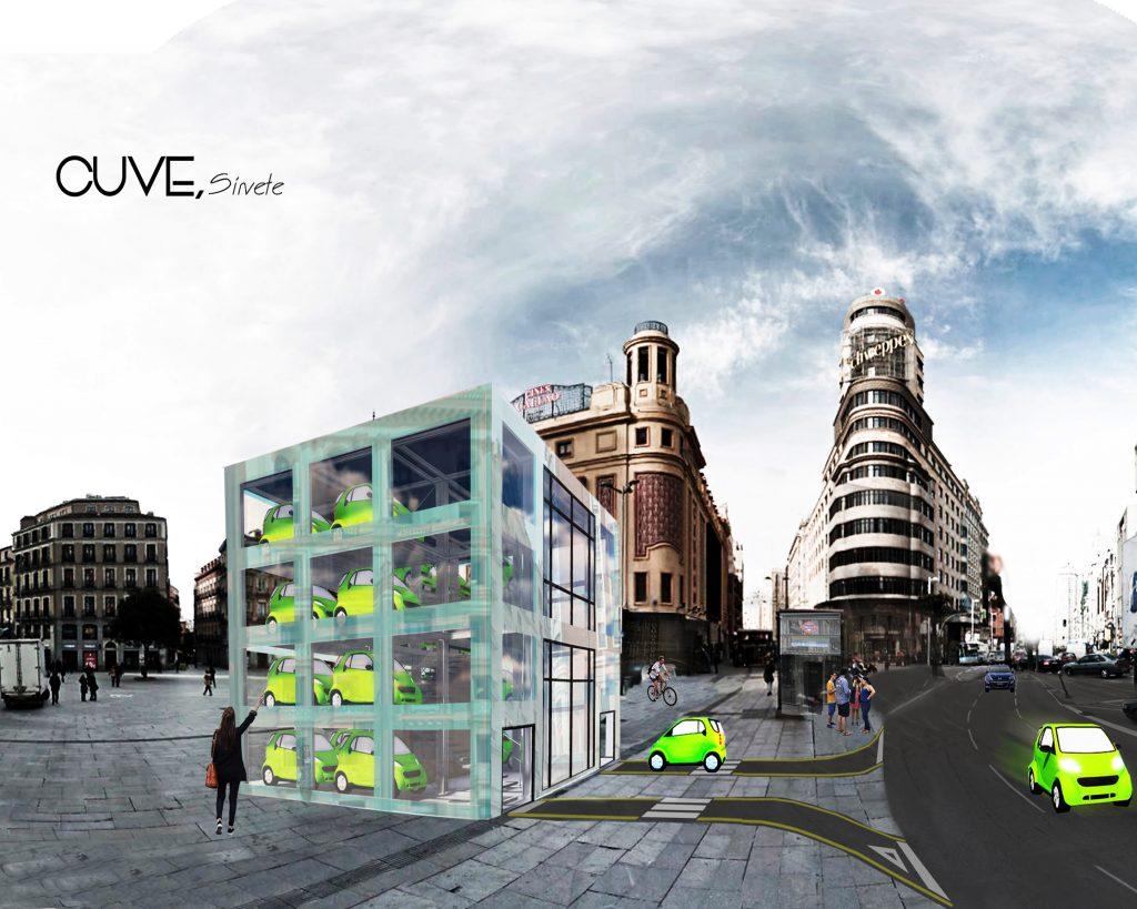 idoia otegui iotegui arquitectura aparcaXmadrid ayuntamiento madrid aparcamientos disuasorios trafico uah 4