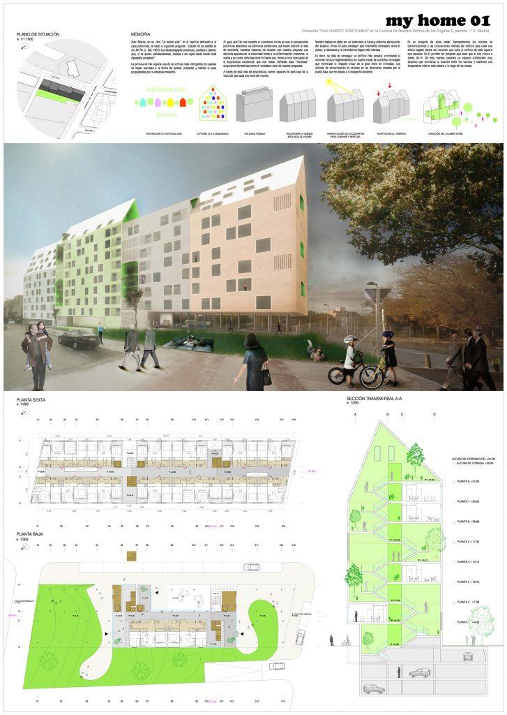 iotegui idoia otegui arquitectura vivienda socila madrid emvs vallecas myhome habitat futura myhome 5