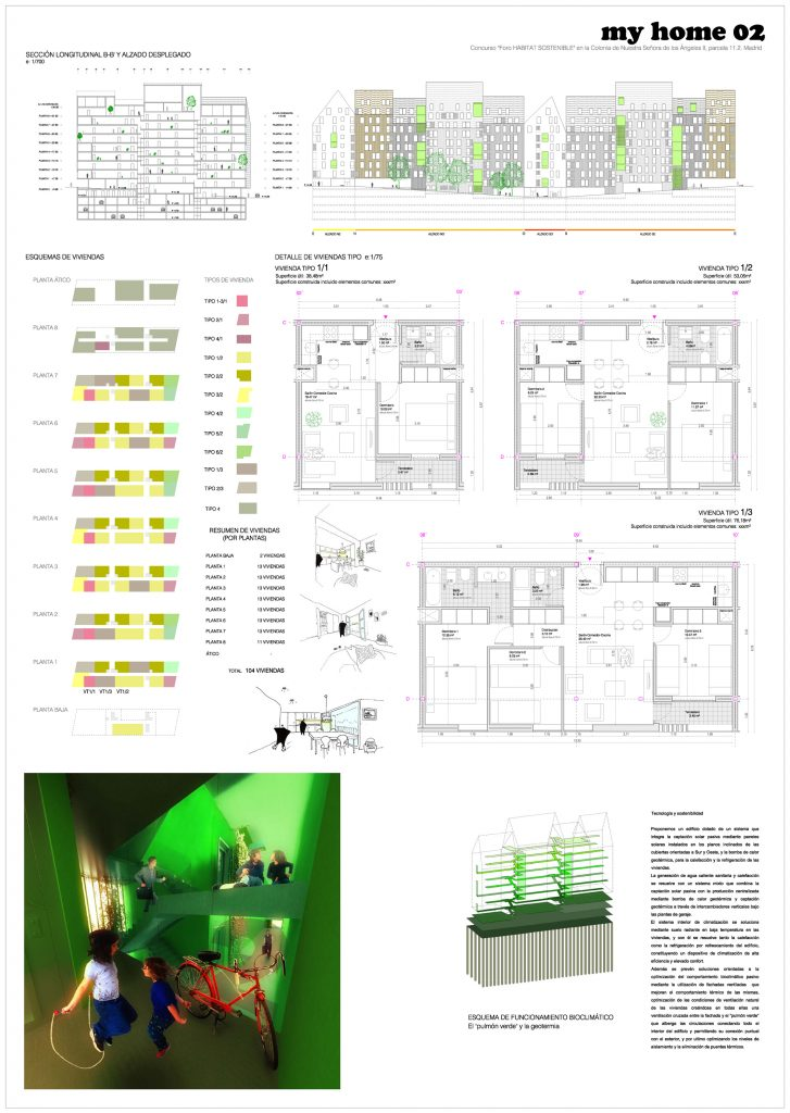 iotegui idoia otegui arquitectura vivienda socila madrid emvs vallecas myhome habitat futura myhome 6