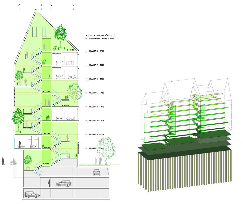 iotegui idoia otegui arquitectura vivienda socila madrid emvs vallecas myhome habitat futura myhome 9
