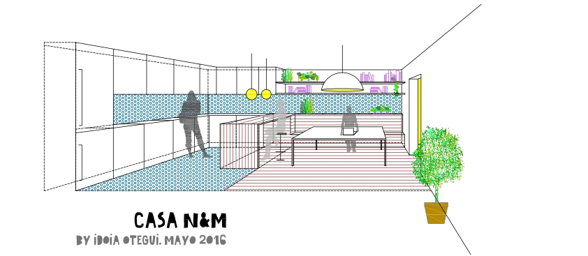 idoia otegui arquitectura reforma rehabilitacion fuenterrabia ondarribia casa N&M 3