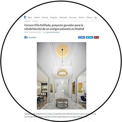 i! arquitectura idoia otegui arquitectura rehabilitación palacete madrid plataforma archdaily